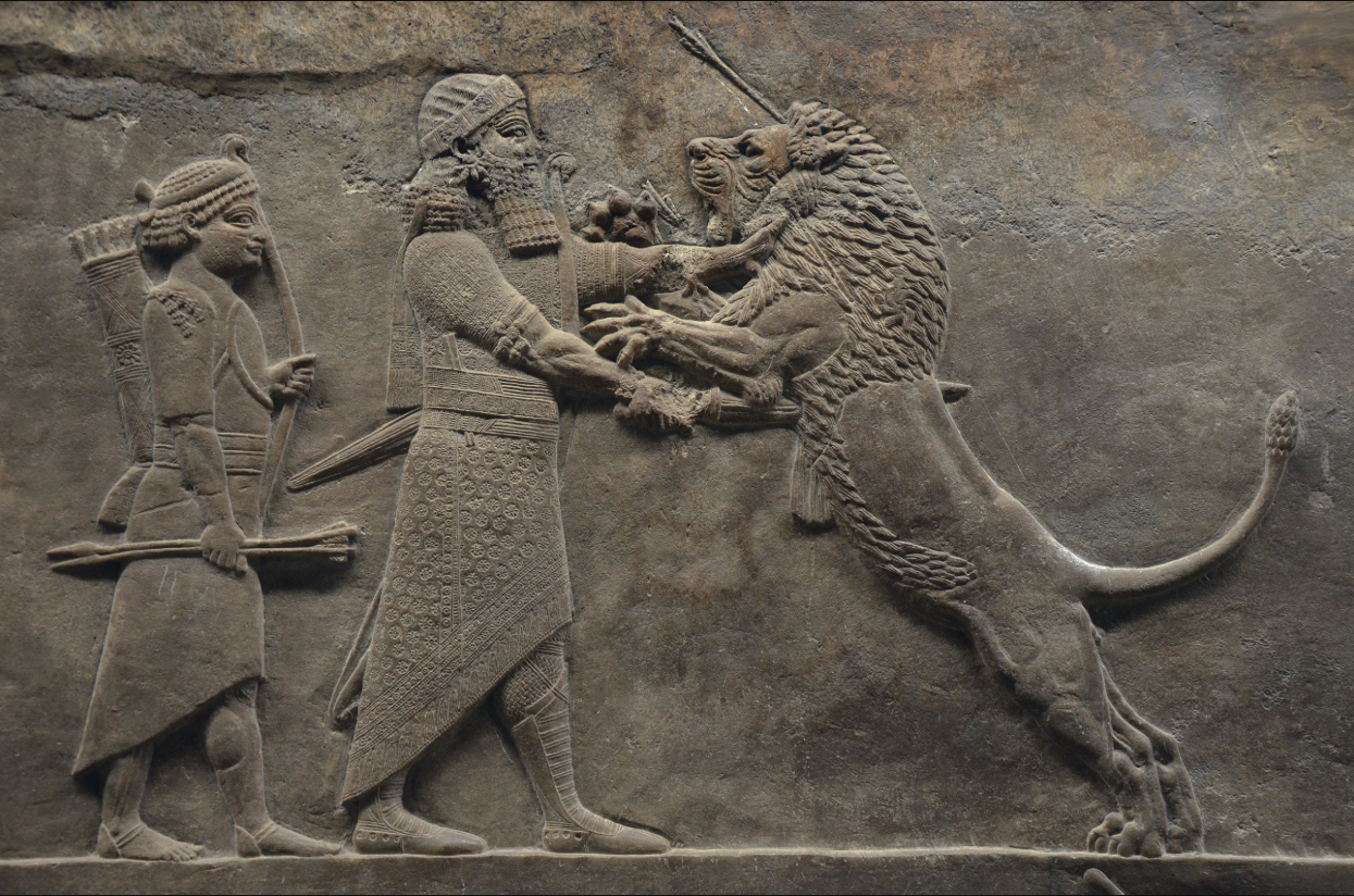 Asurbanipal lovi lavove