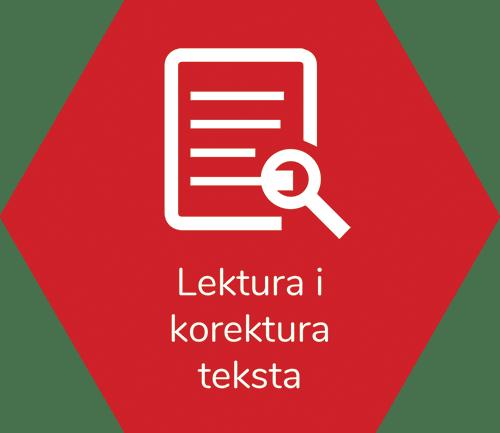 Lektura i korektura teksta - Translations