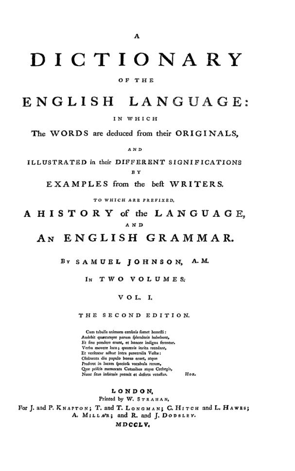 Džonsonov rečnik
