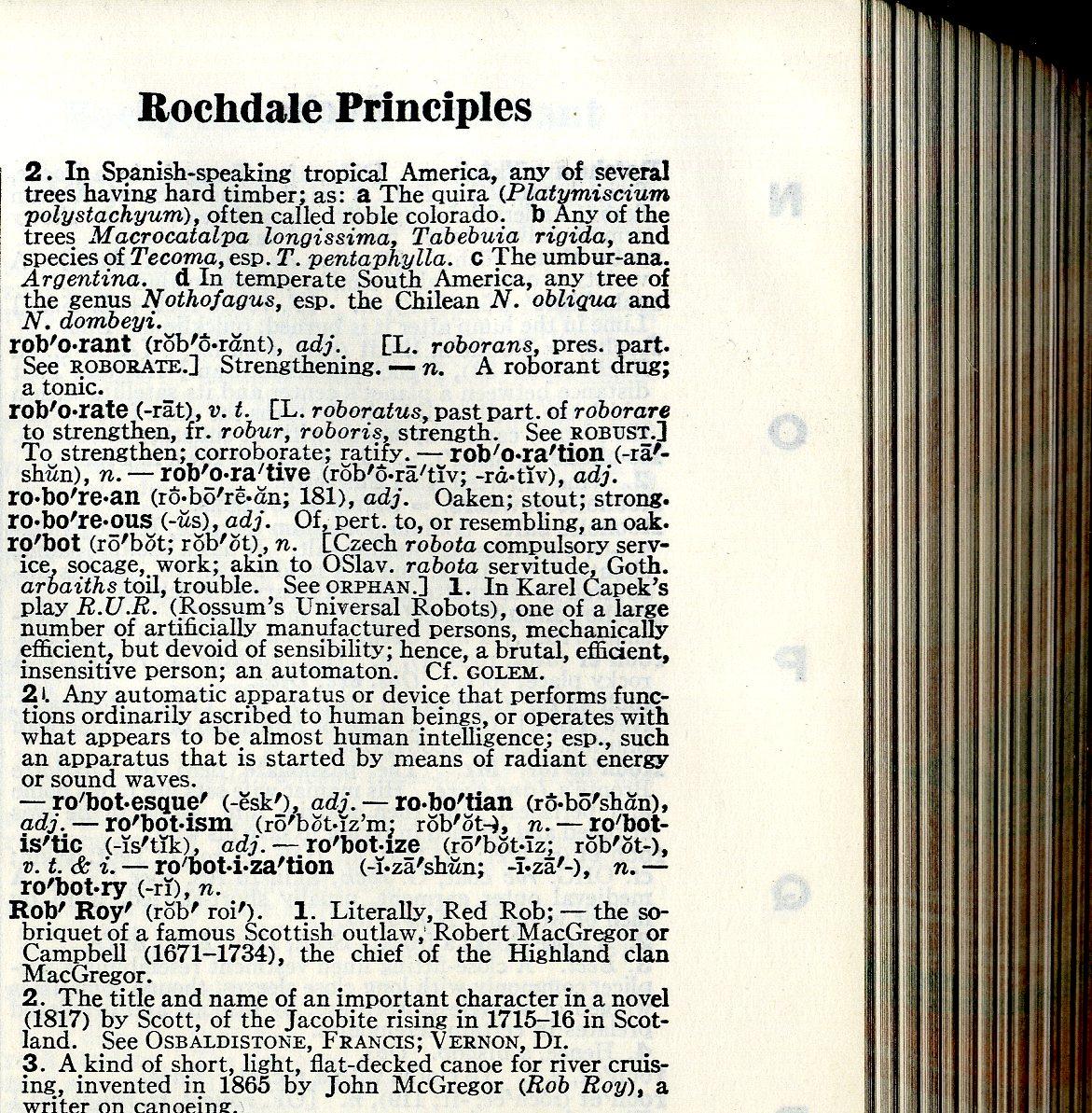 Robot definicija Webster new international dictionary second edition