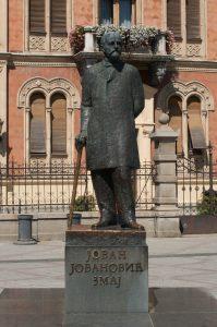 Spomenik Jovanu Jovanoviću Zmaju u Novom Sadu