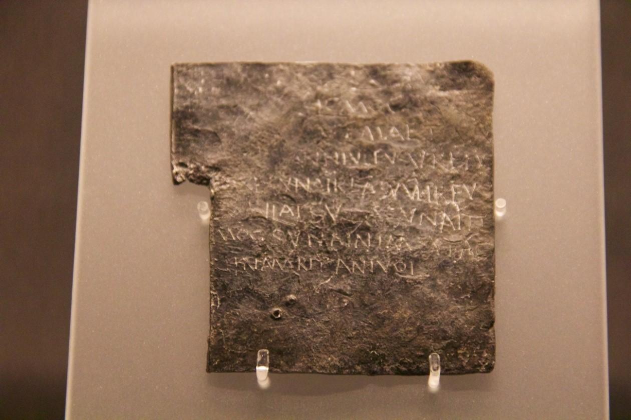 plocica iz rimskog kupatila