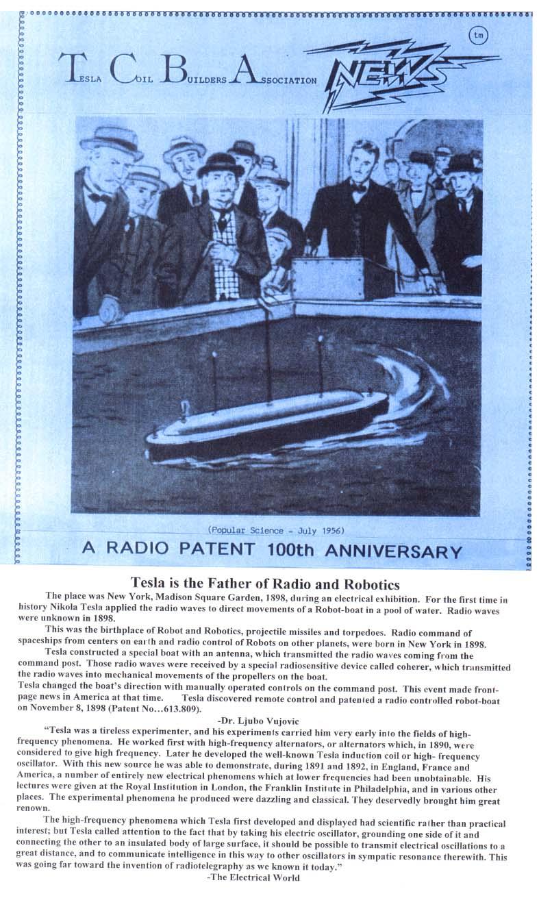 Radio patent